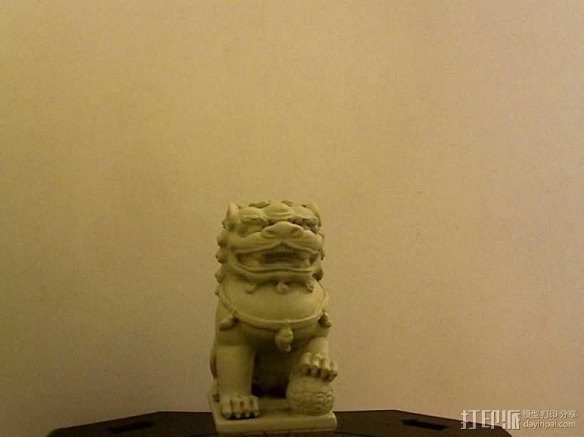 中国石狮子 3D模型  图1