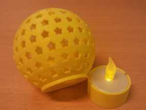 参数化圣诞球装饰品 3D模型