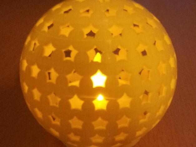 参数化圣诞球装饰品 3D模型  图7
