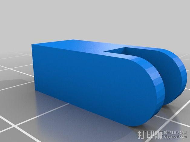 《星球大战》水生生物Septapus 3D模型  图6