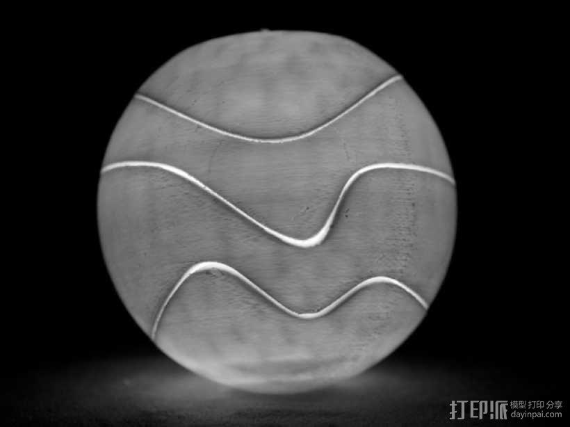 球形拼图 3D模型  图5