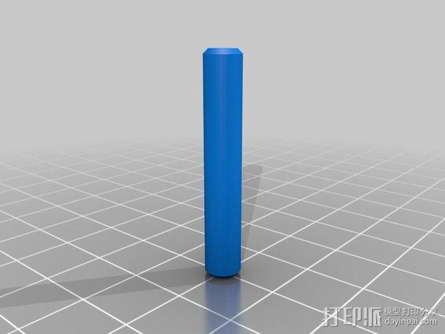 圆锥体 3D模型  图4