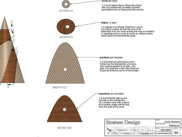 圆锥体 3D模型  图2