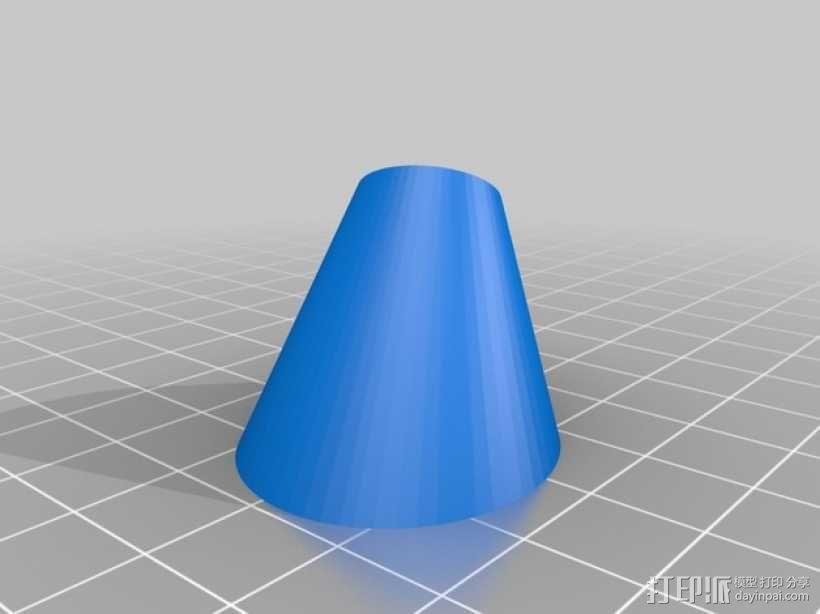 圆锥体 3D模型  图7