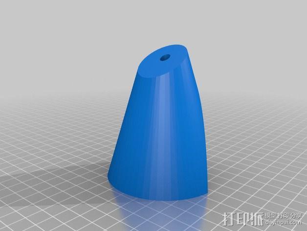 圆锥体 3D模型  图8