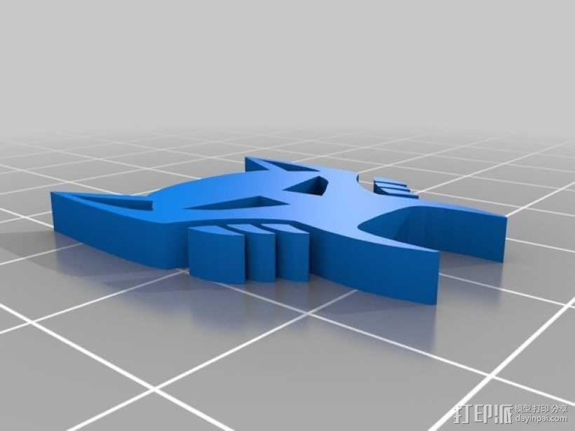 变形金刚 标志 3D模型  图3