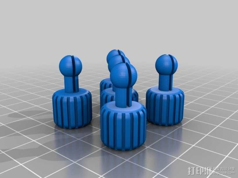 个性化项链 3D模型  图2