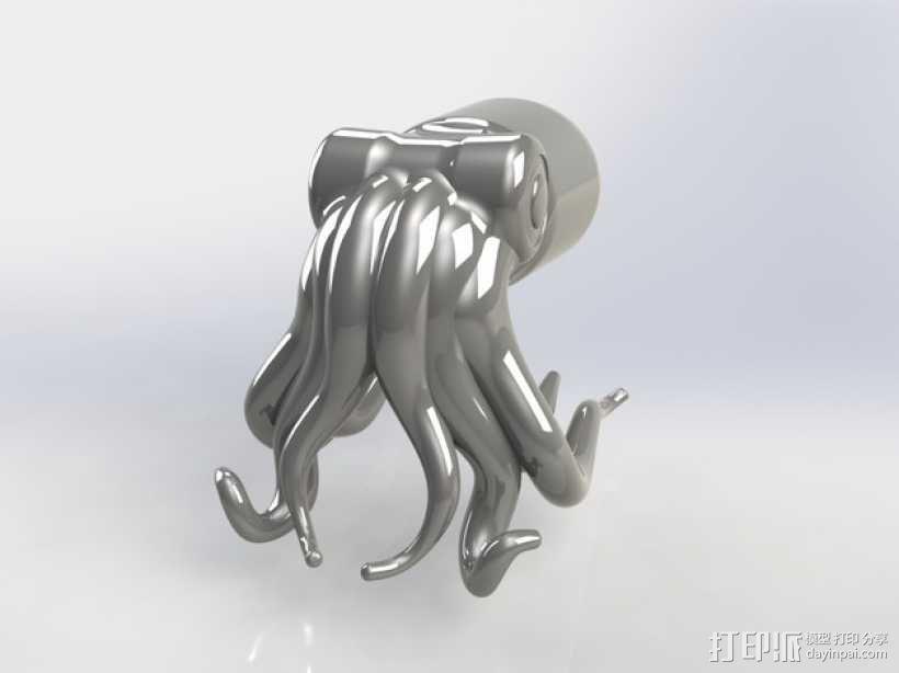 生命之光 -- 章鱼3号 3D模型  图1
