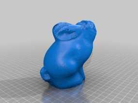 兔子 3D模型