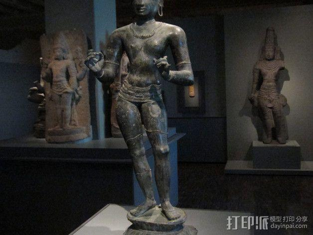 湿婆 雕塑 3D模型  图1