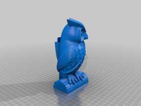 猫头鹰 3D模型