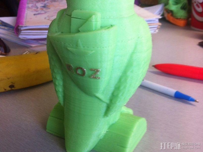 猫头鹰 3D模型  图2