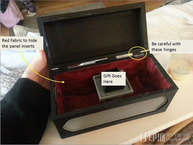 藏宝箱 3D模型  图1