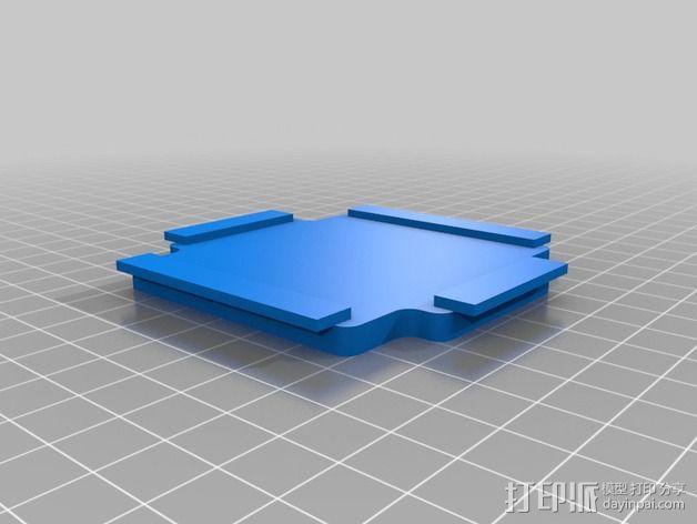 藏宝箱 3D模型  图4