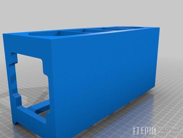 藏宝箱 3D模型  图3