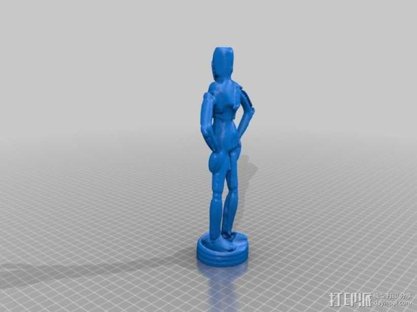 人偶 3D模型  图2