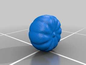 南瓜 3D模型