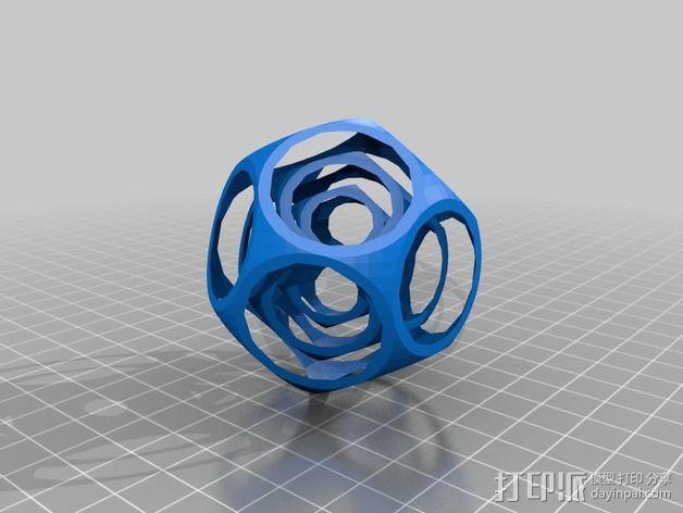 十二面体陀螺 3D模型  图2