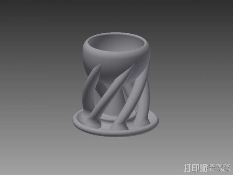 有趣的杯子 3D模型  图1