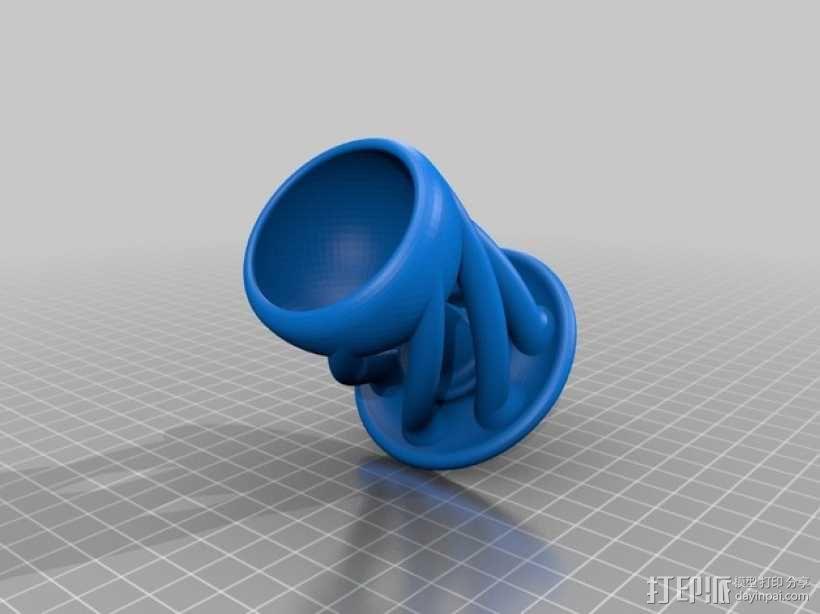 有趣的杯子 3D模型  图2