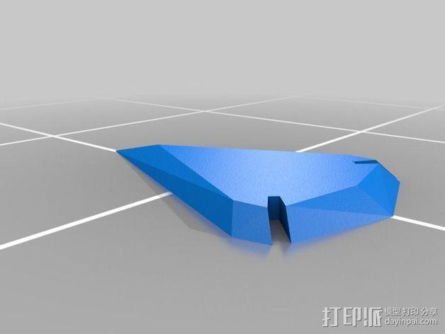 定制化箭头 3D模型  图2