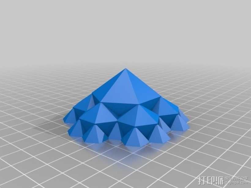 蜂巢 3D模型  图2