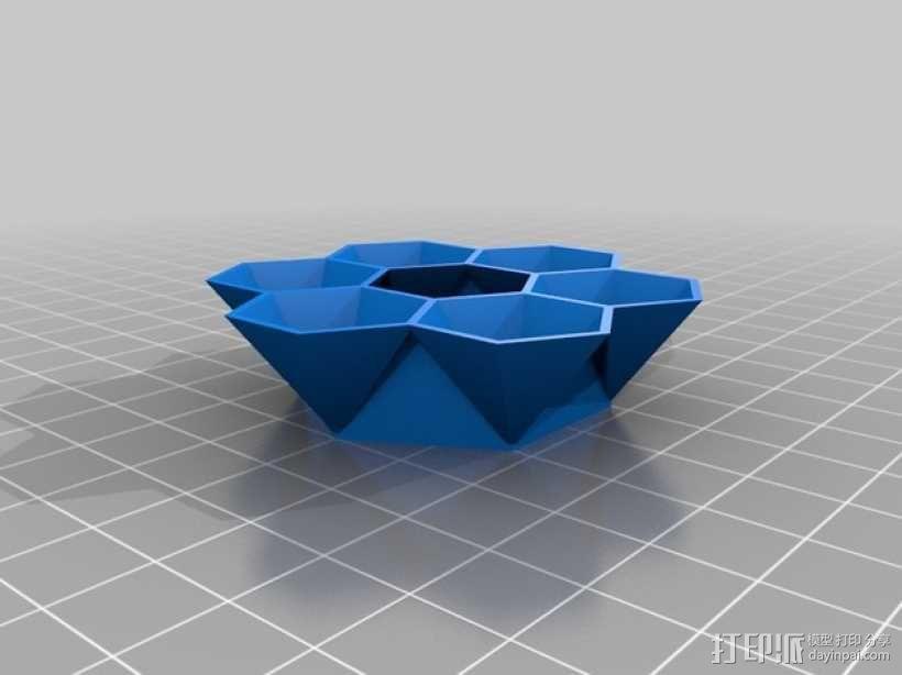 蜂巢 3D模型  图3