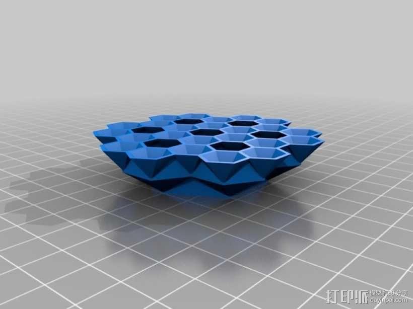 蜂巢 3D模型  图4