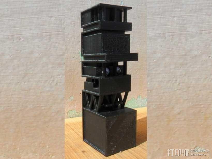 孟买 安提利亚建筑 3D模型  图1