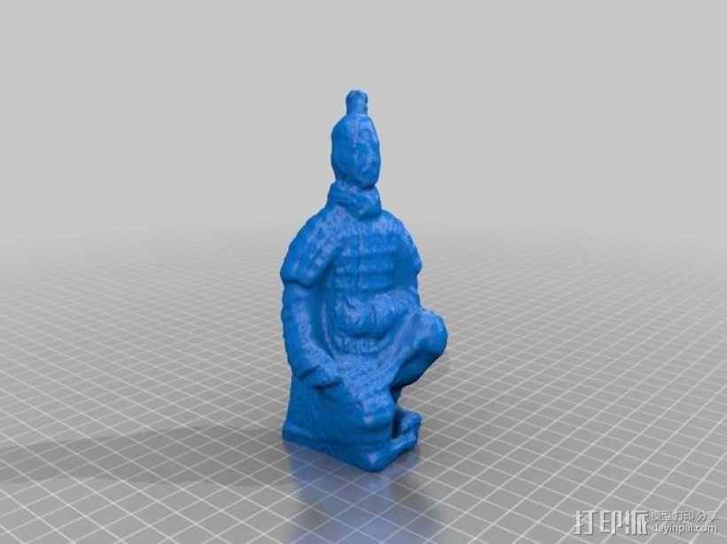 兵马俑  3D模型  图2