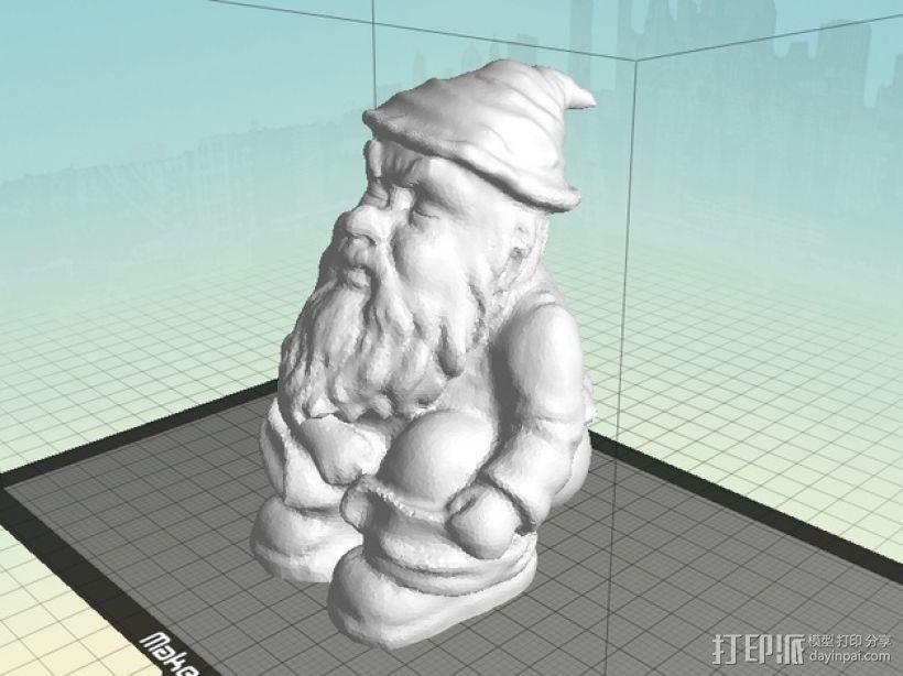 小矮人 3D模型  图1