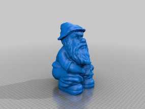 小矮人 3D模型