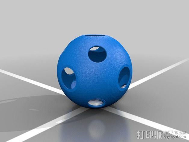 同心球 3D模型  图3