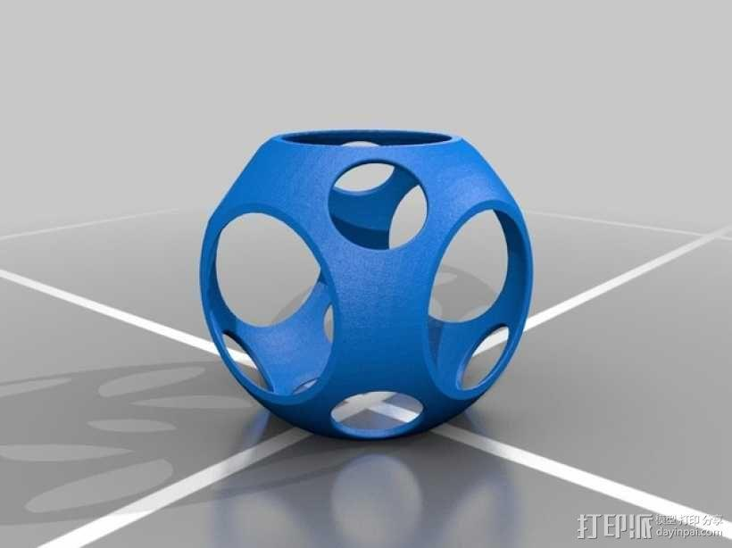 同心球 3D模型  图4