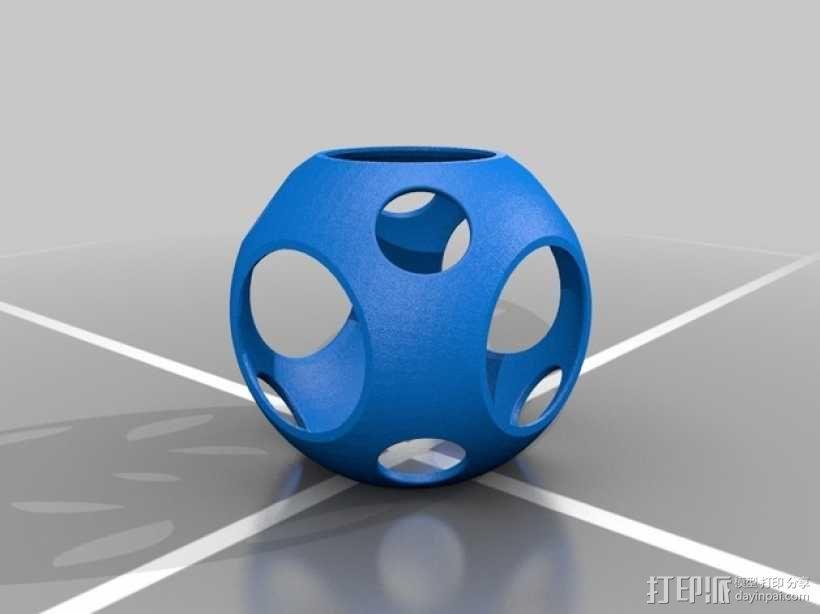 同心球 3D模型  图5