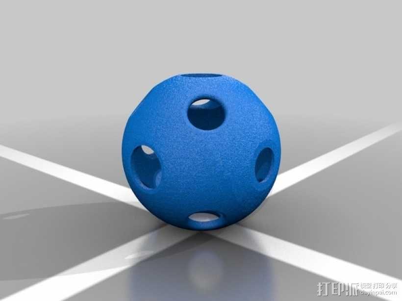 同心球 3D模型  图6