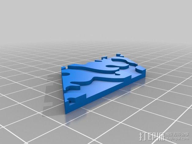小猫 拼贴 3D模型  图6