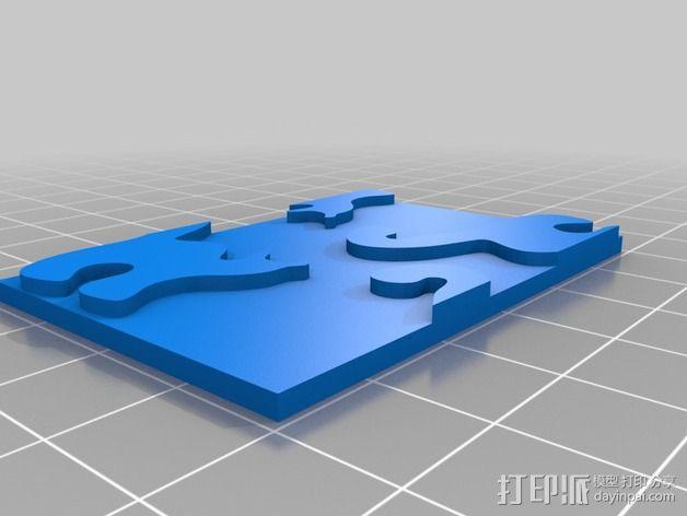 小猫 拼贴 3D模型  图7