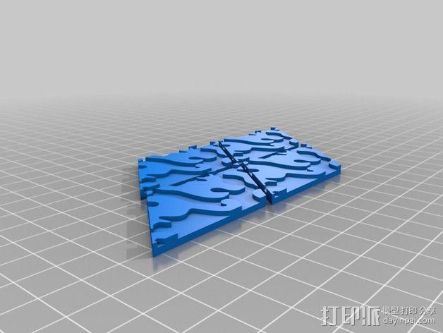 小猫 拼贴 3D模型  图9