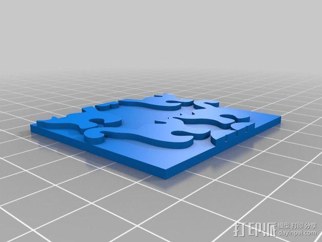 小猫 拼贴 3D模型  图11