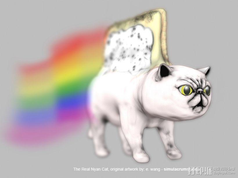 彩虹猫  3D模型  图3