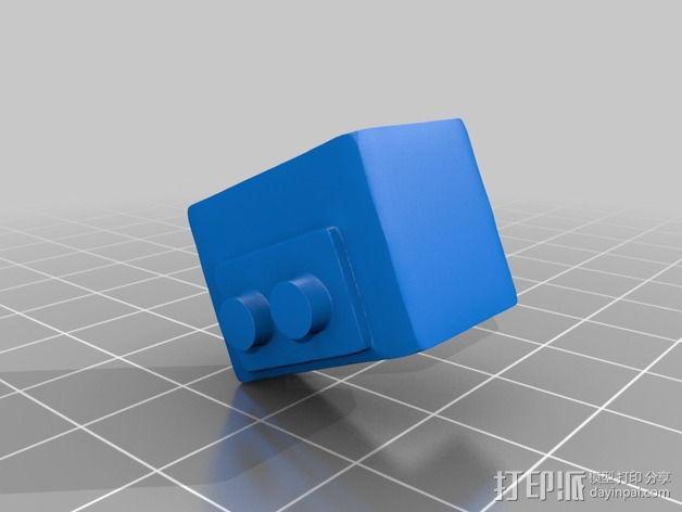 金属乐队 Metallica 标志 3D模型  图2