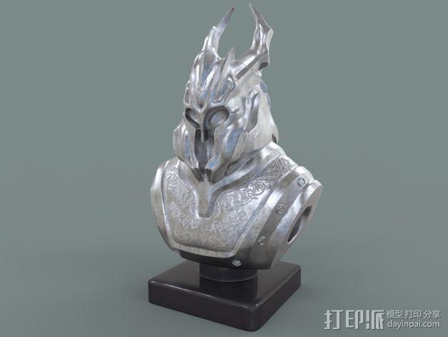 游戏《霸王:黑暗传奇》人物 3D模型  图1