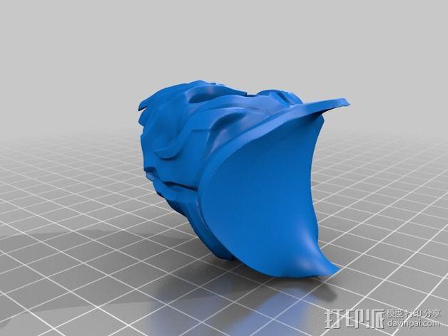 游戏《霸王:黑暗传奇》人物 3D模型  图4