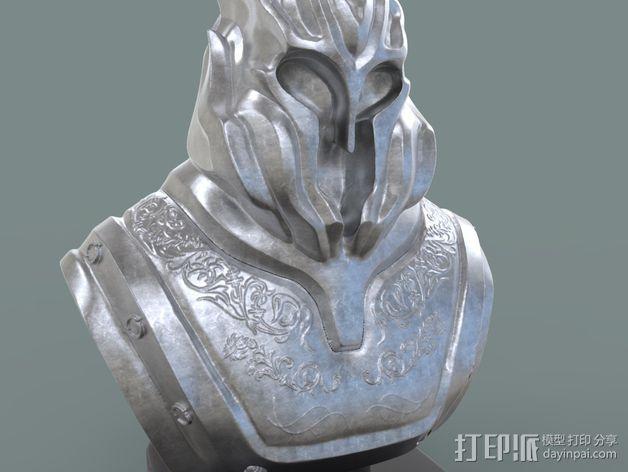游戏《霸王:黑暗传奇》人物 3D模型  图6