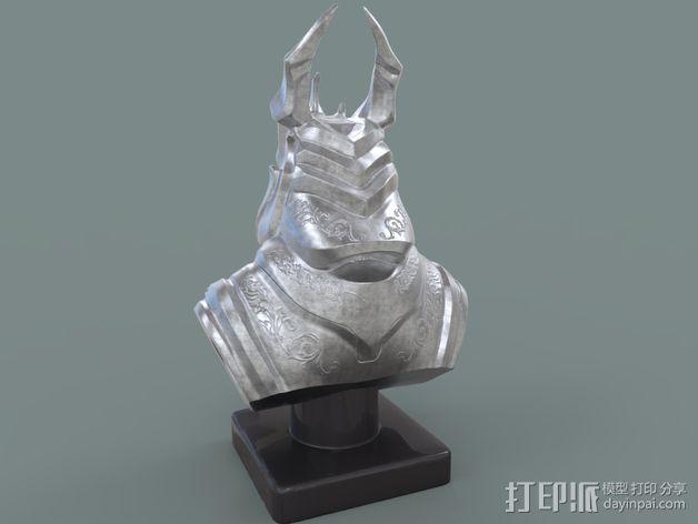 游戏《霸王:黑暗传奇》人物 3D模型  图7