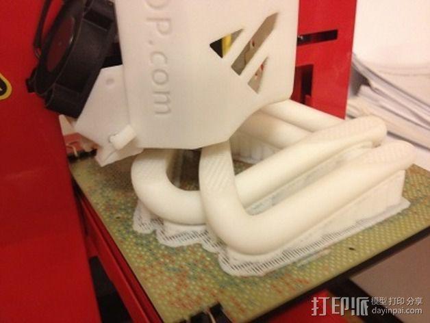 三叶结 3D模型  图5