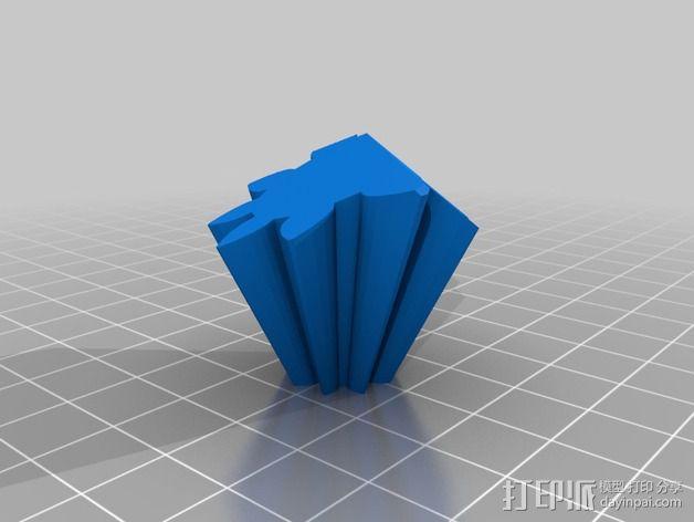十二面体 齿轮 3D模型  图3