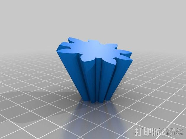 十二面体 齿轮 3D模型  图6