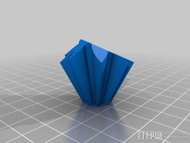 十二面体 齿轮 3D模型  图5